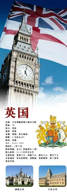 英国风景海报图片