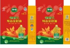 茶籽油包装图片