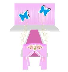 婚礼粉色仪式区效果图