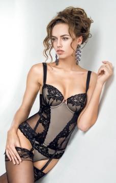 丝袜内衣美女模特图片