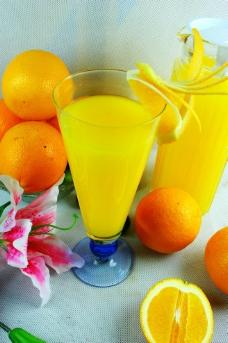 柳橙汁图片