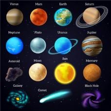 太空的星星