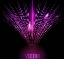 紫色光效 背景图片