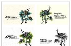 笔刷设计应用 背景图案 矢量素材 AI格式_0244