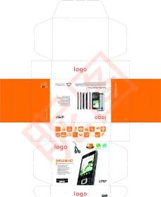 手机包装盒 展示盒图片