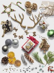 圣诞高清小装饰素材图片