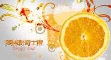 美国新奇士橙图片