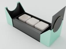 茶叶礼盒模型图片