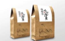 牛皮纸茶包装