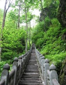 山路石梯图片
