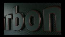 磨砂金属质感logo标志展示AE模板