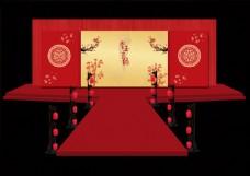 中式婚礼主舞台