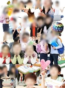 青少年人物素材集合图片