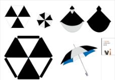 VI广告伞雨衣图片