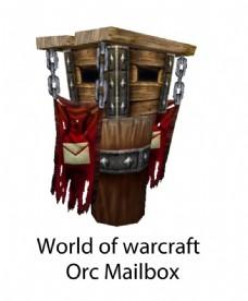 魔兽世界部落邮箱纸模图片