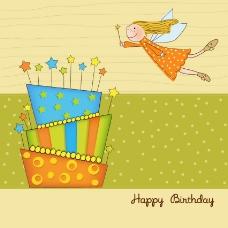 生日祝福卡片