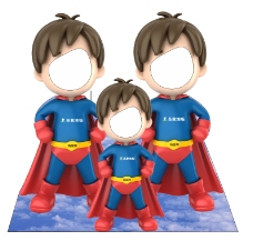小超人角色扮演人物道具