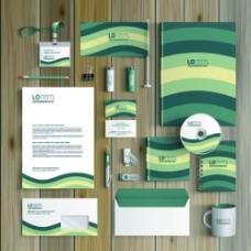 绿色VI设计图片