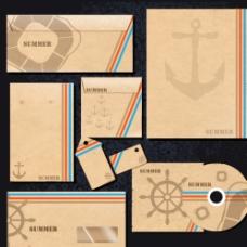 牛皮纸VI设计图片