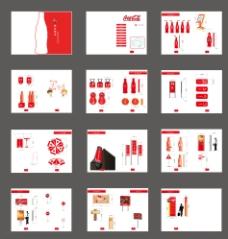 可口可乐视觉导向设计图片