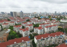 上海小区航拍图片
