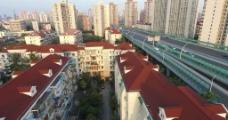上海 城市 中环 高清视频