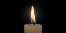 白色蜡烛燃烧特写视频素材