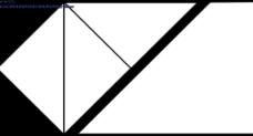 三角形黑白屏幕分割遮罩视频素材-06