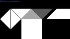 三角形黑白屏幕分割遮罩视频素材-05