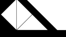 三角形黑白屏幕分割遮罩视频素材-09
