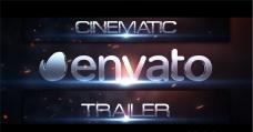 电影预告片的标题动画AE模板