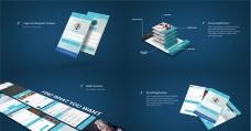 APP应用程序宣传演示动画AE模板