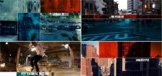 城市生活片头包装动画AE模板