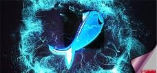 超级震动波纹Logo演绎动画AE模板