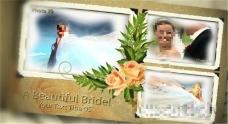 婚礼电子相册展示模板