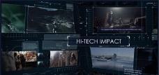 暗黑科技风格展示动画AE模板