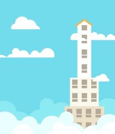 高樓大廈圖片