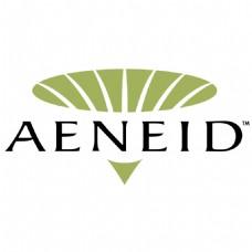 AENEID公司绿黑A字母LOGO设计