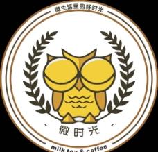 奶茶店logo图片