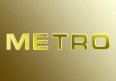 METRO艺术字图片