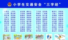 小学生交通安全三字经图片
