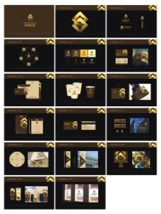 房地产vi设计矢量标志VI模板素材