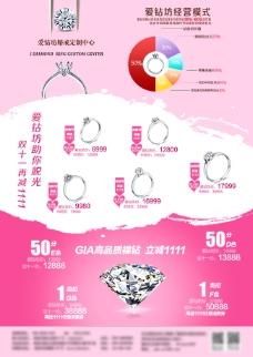 珠宝 dm宣传单图片