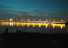 荧光大桥图片