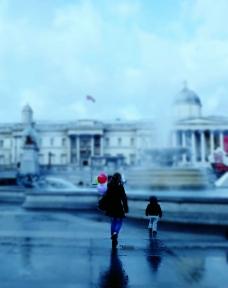 母女在伦敦图片
