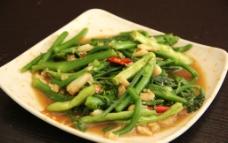 蒜蓉炒青菜图片