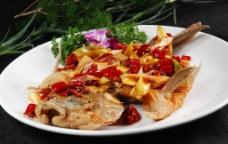 五香烤鱼图片