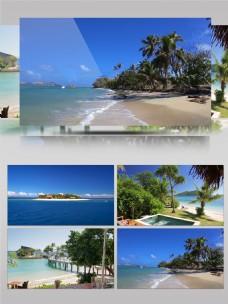 斐济度假旅游实景拍摄视频素材