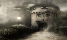 雾气古堡视频素材