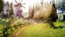 童话农庄视频素材